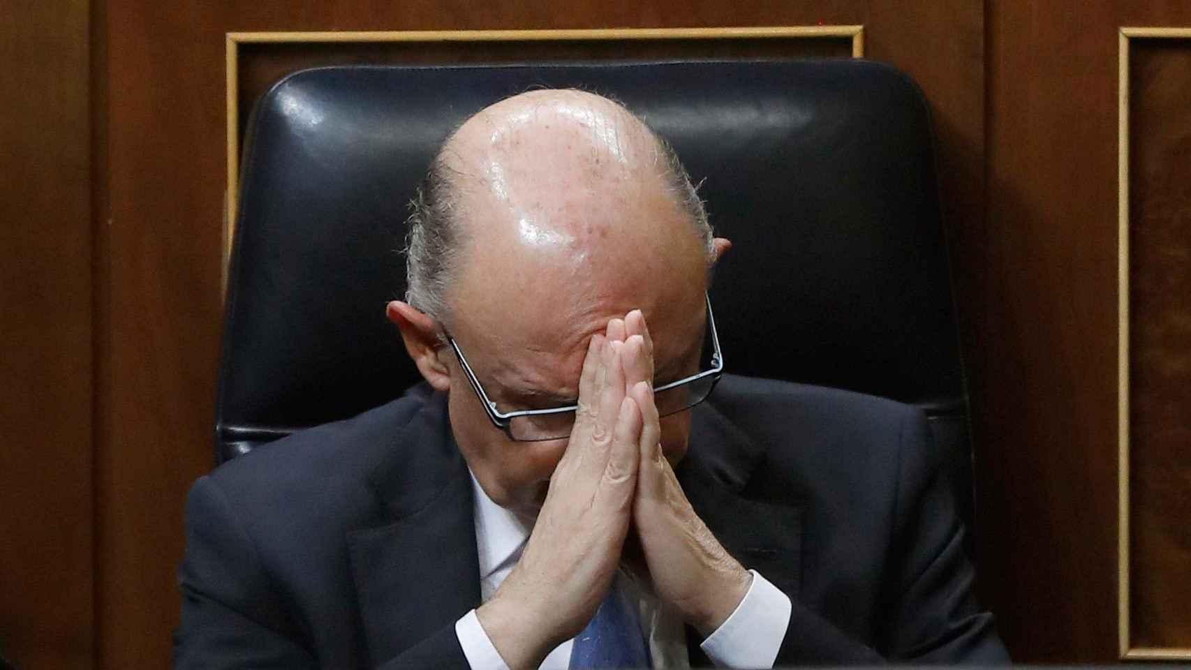 Cristóbal Montoro, en el Parlamento.