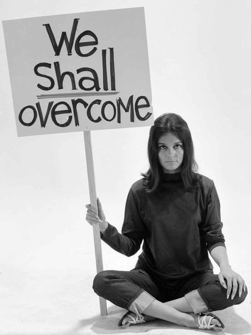 La periodista y activista por los derechos de la mujer Gloria Steinem, en una imagen de archivo.
