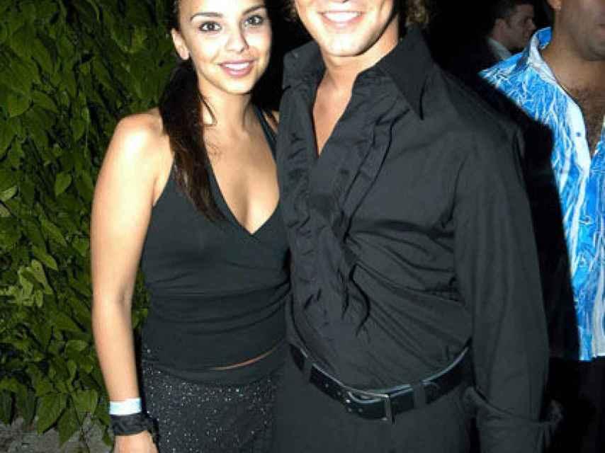 Chenoa y Bisbal en 2004 cuando eran pareja
