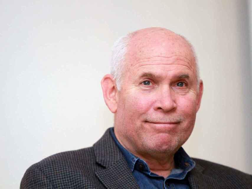 El fotógrafo americano Steve McCurry.