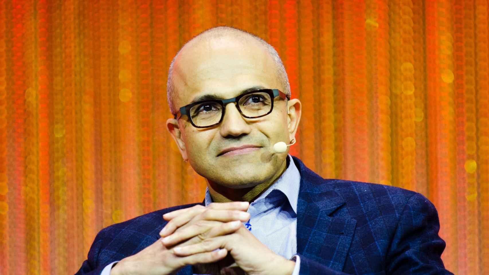 Nadella, actual CEO de Microsoft.
