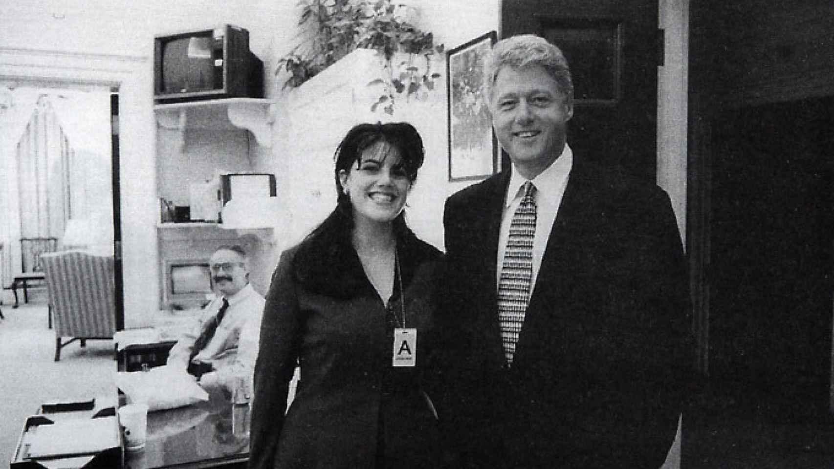 Foto ufficiale della Casa Bianca presa il 17 novembre 1995.