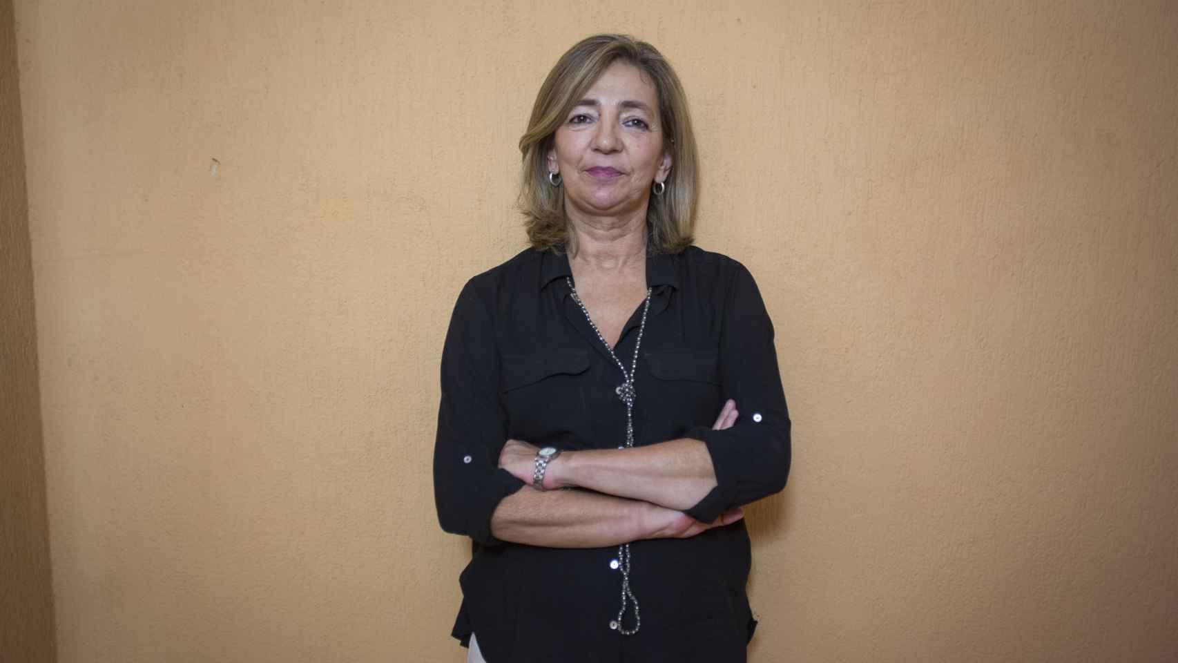 .Carmen, licenciada en Derecho de 55 años, conoció el voluntariado en cuidados paliativos hace algunos años, cuando a su marido le detectaron un alzhéimer precoz a los 45 años
