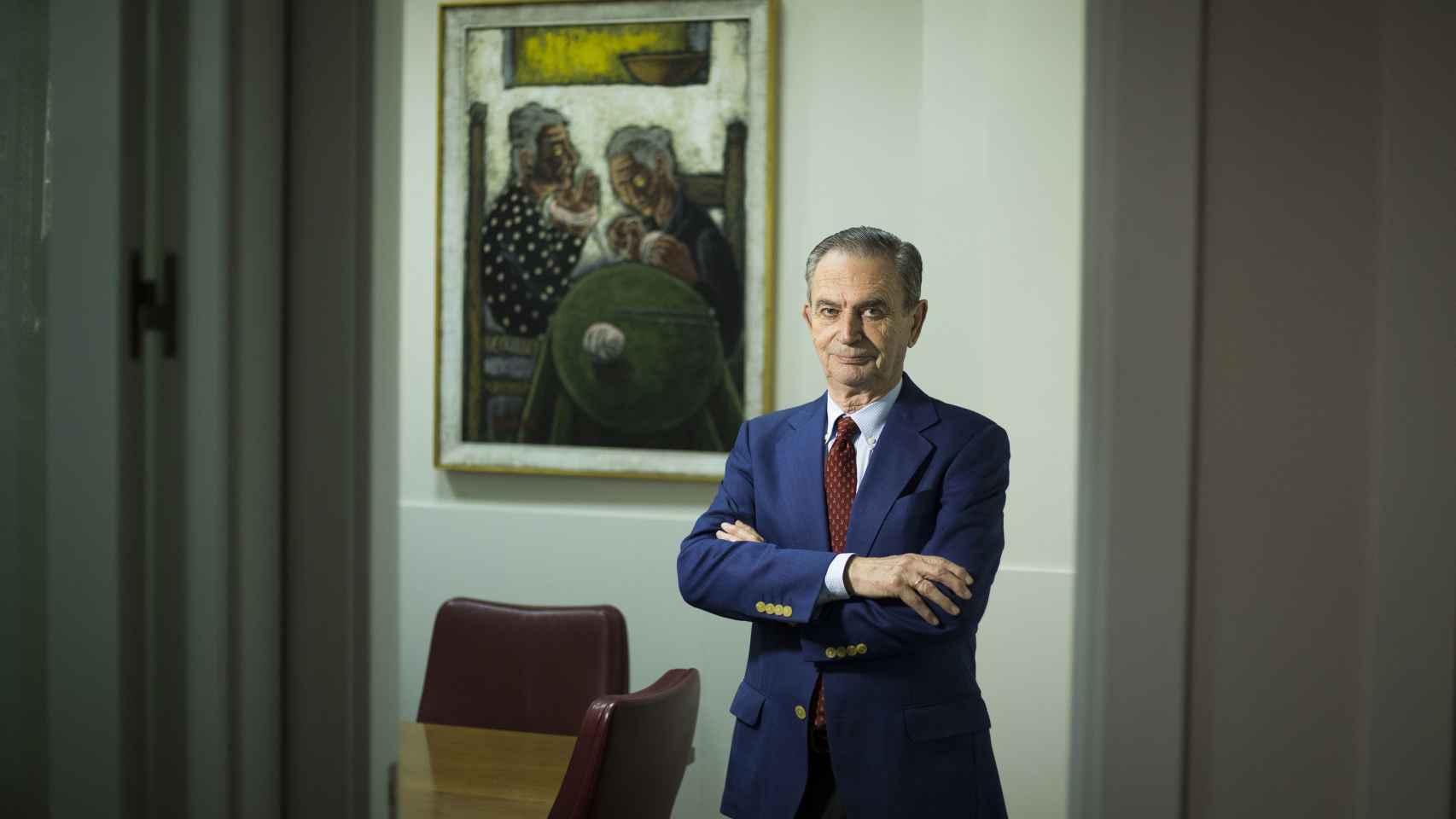 El presidente de la asociación Sevillana de Asistencia (ASA), Fernando López Íñiguez,