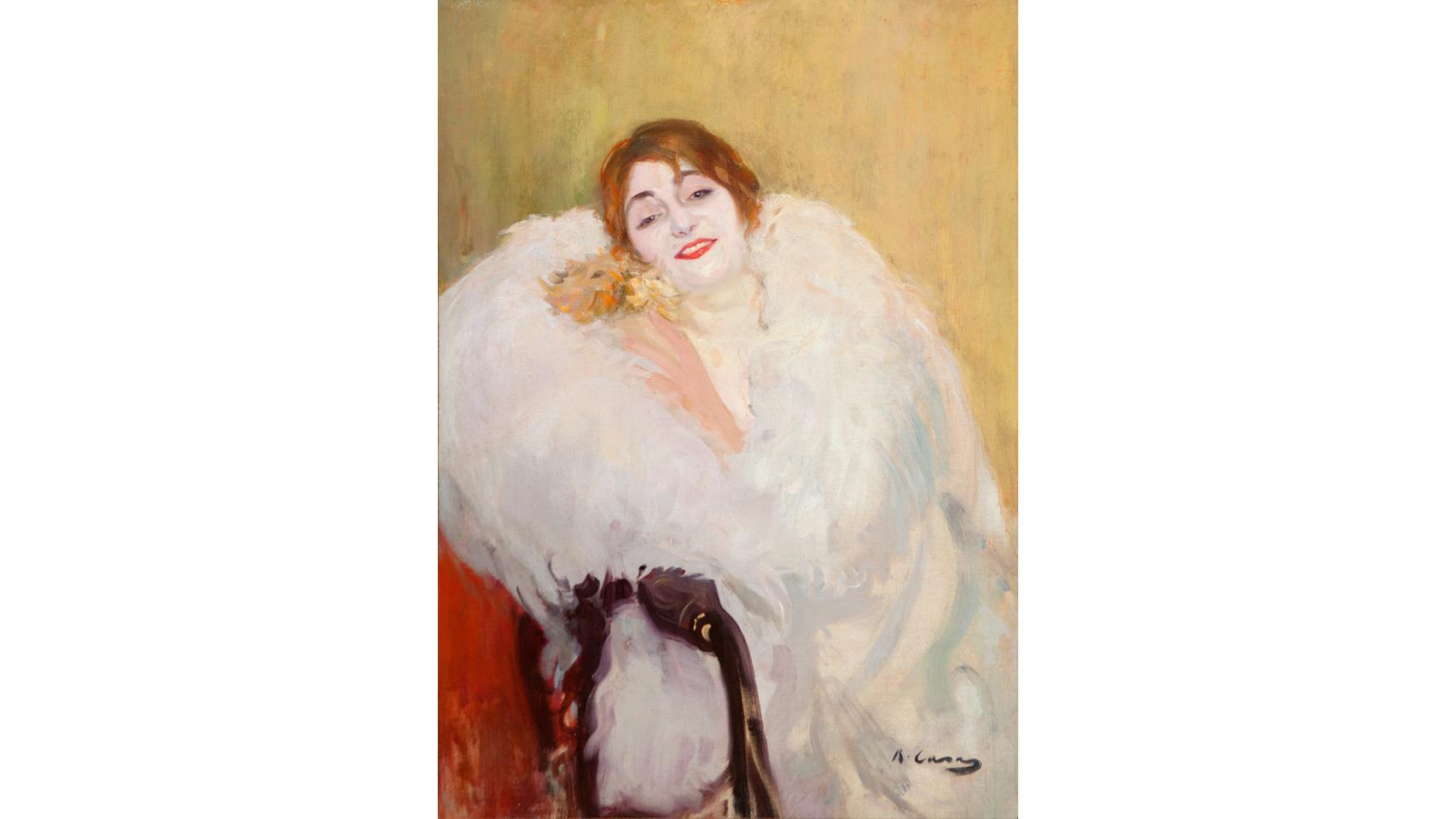 Pinturas de Ramón Casas.