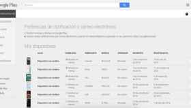 Google Play ya no te muestra tus móviles y tablets viejos