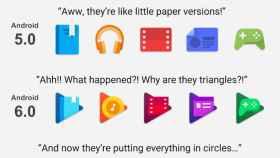 La evolución de los iconos de Google en sus aplicaciones
