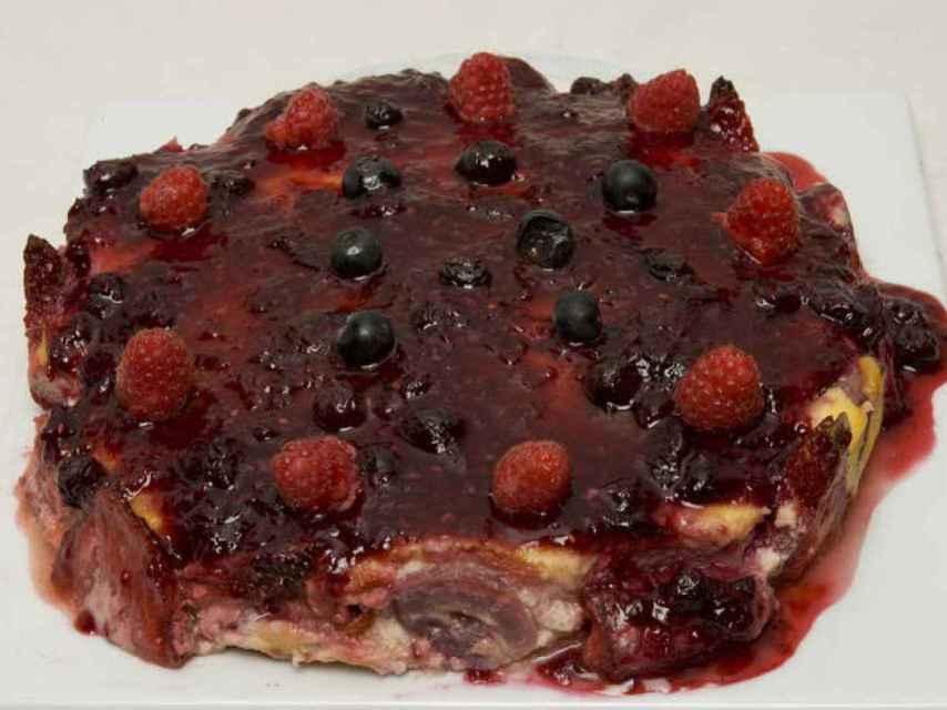 La tarta apodada 'la más fea del mundo'