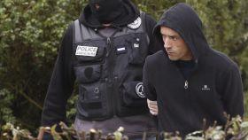 Mikel Irastorza, tras ser detenido por la policía francesa este sábado.