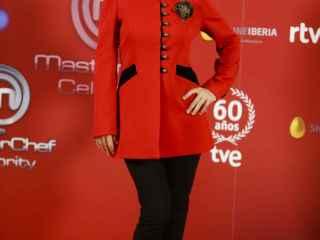 Cayetna Guillén Cuervo en la presentación de MasterChef Celebrity
