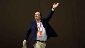 Miquel Iceta, durante el Congreso Nacional del PSC en Barcelona.