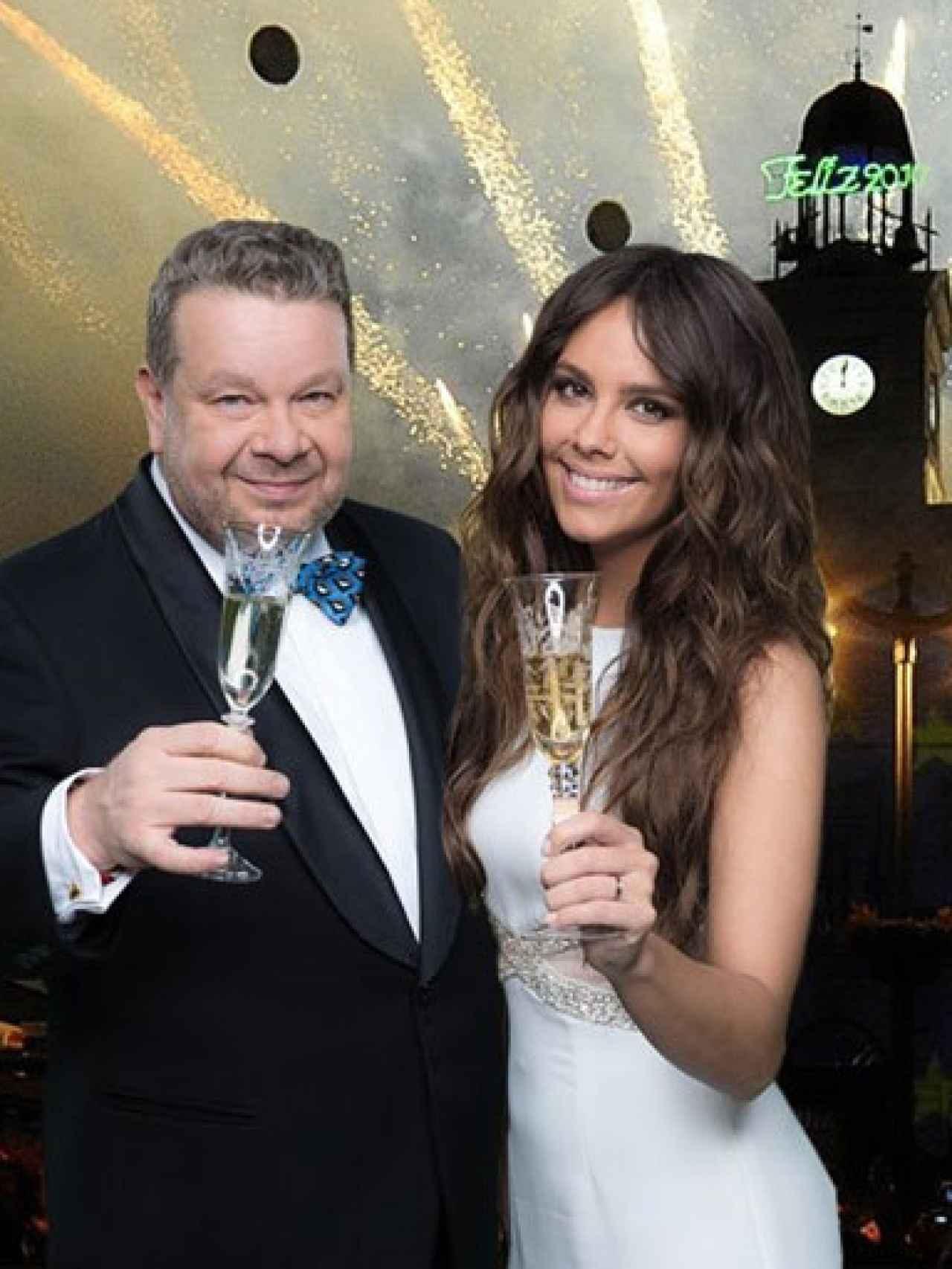 Chicote y Cristina Pedroche darán las campanadas en Antena 3