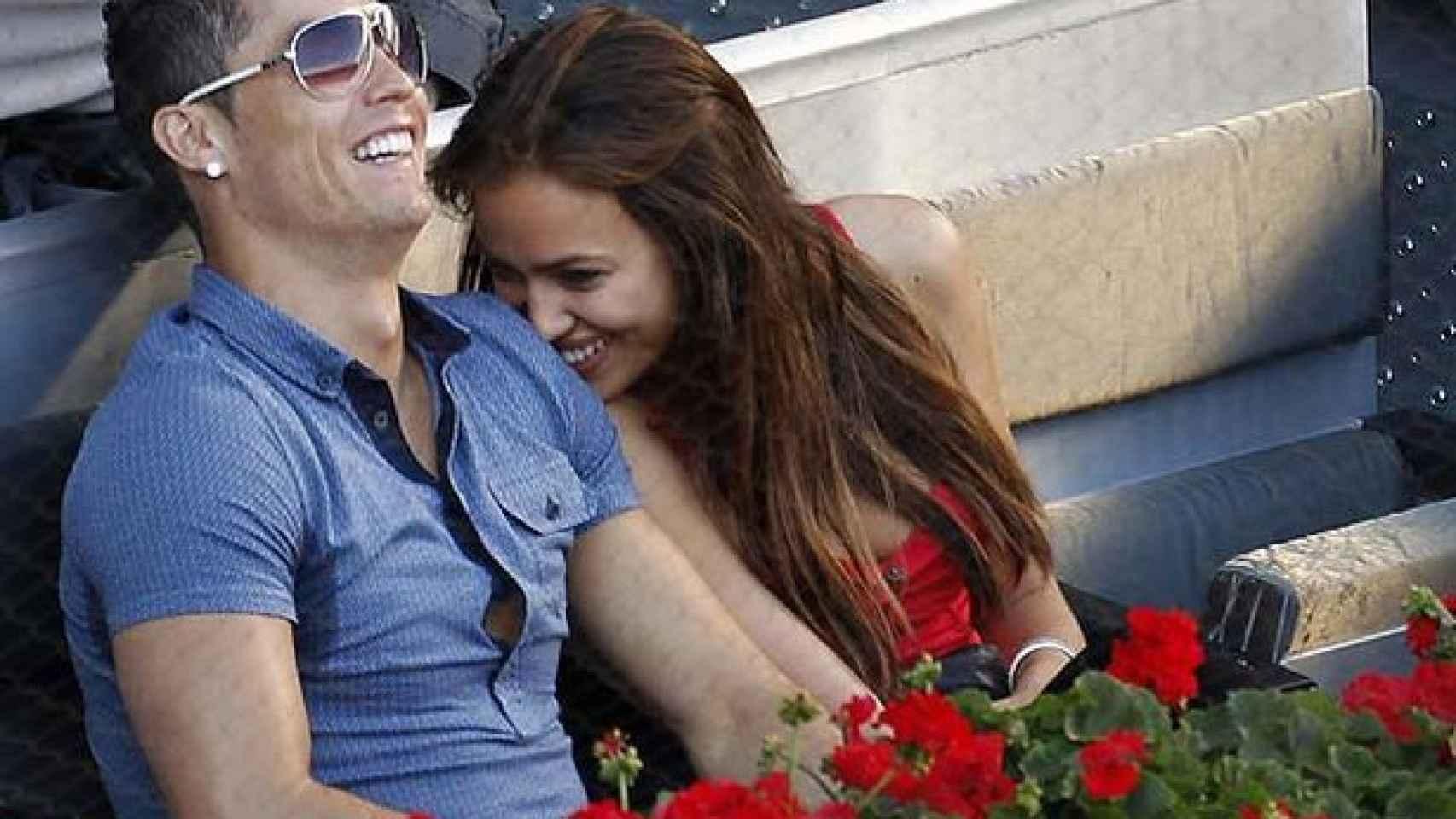Cristiano e Irina formaban una de las parejas más atractivas del panorama del fútbol.