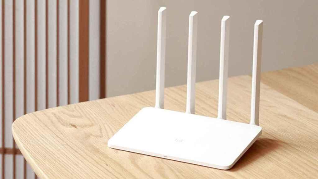 Uno de los routers de Xiaomi.