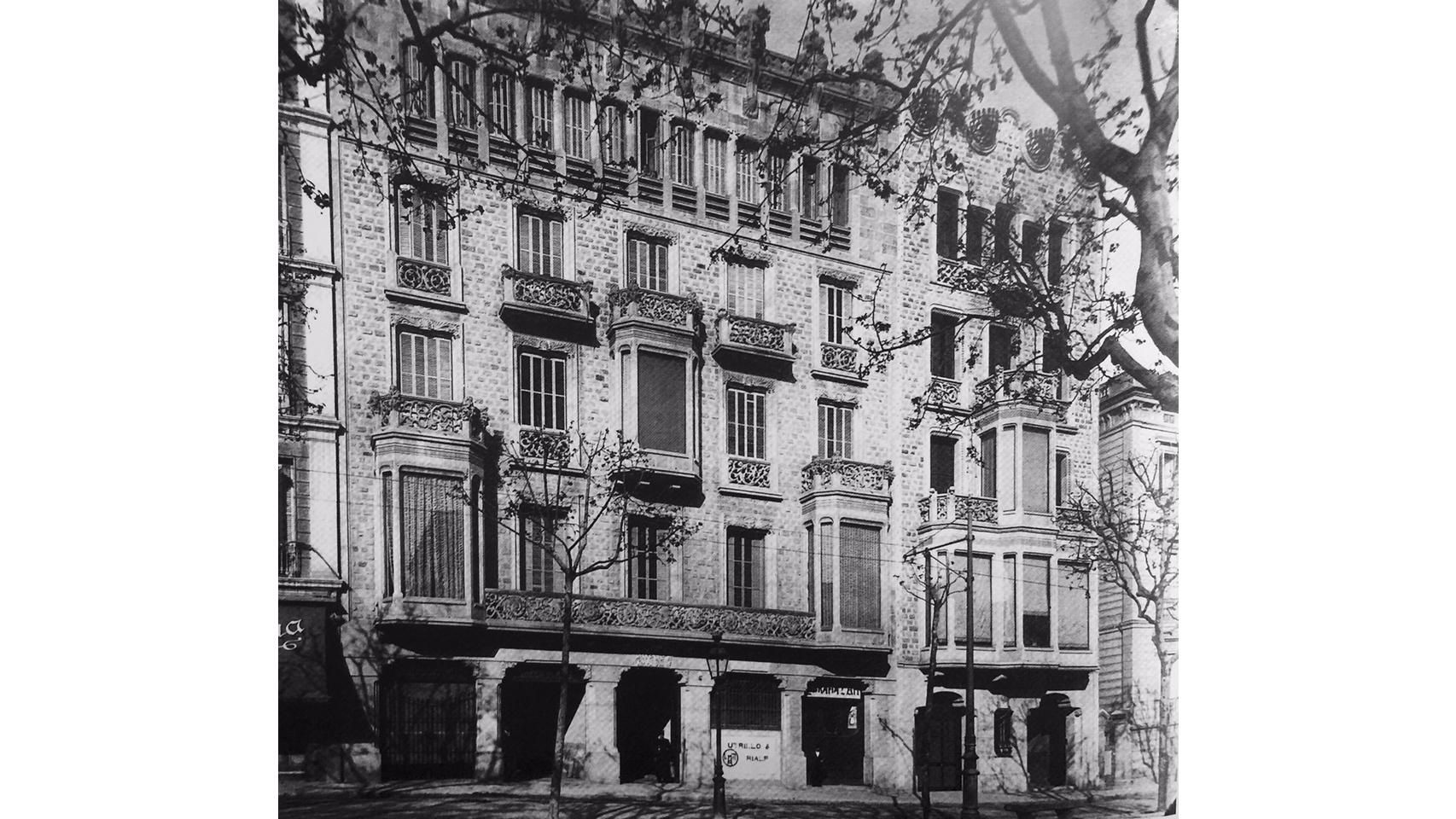 Paseo de Gracia, 96 antes de Massimo Dutti.