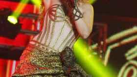Gisela en pleno concierto de OT, el 31 de octubre en el Palau Sant Jordi.