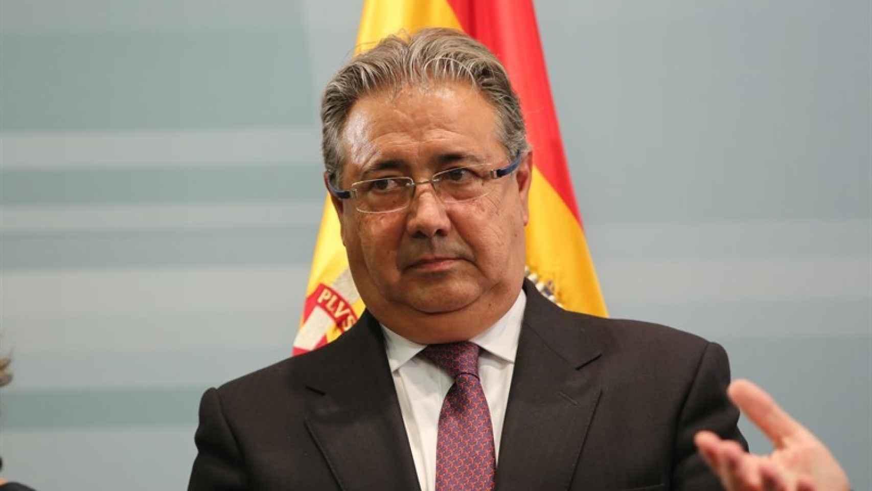 El ministro del Interior, Juan Ignacio Zoido.