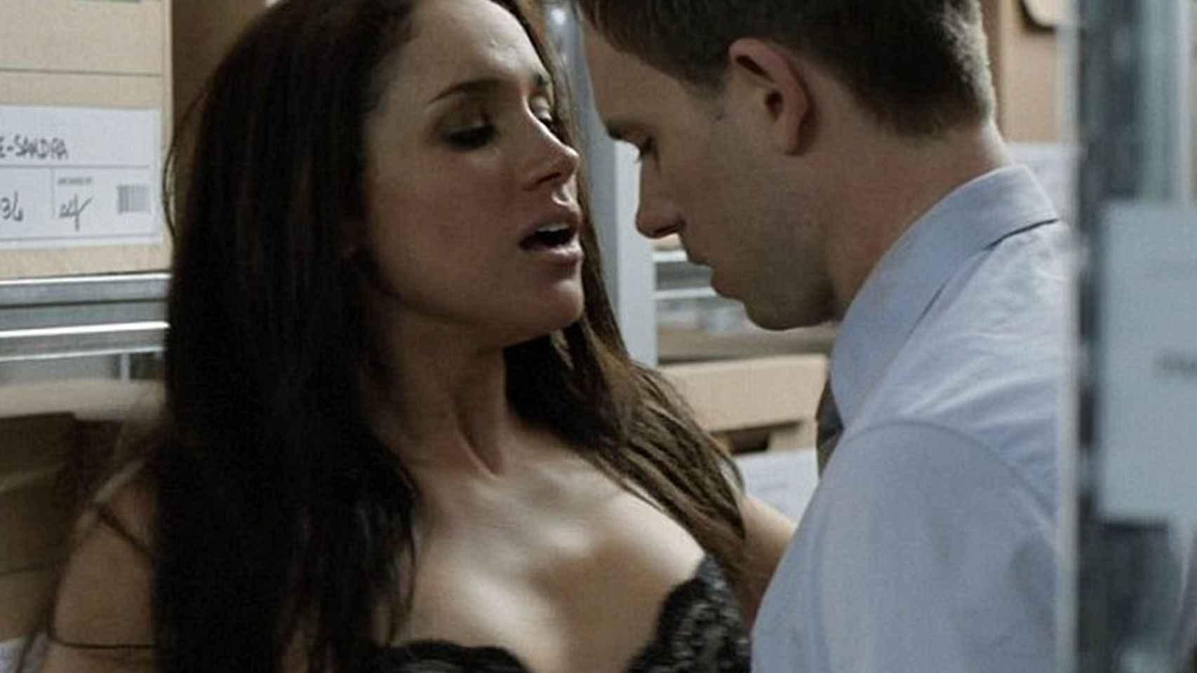 Fotograma de una de las escenas en la que participa la actriz.