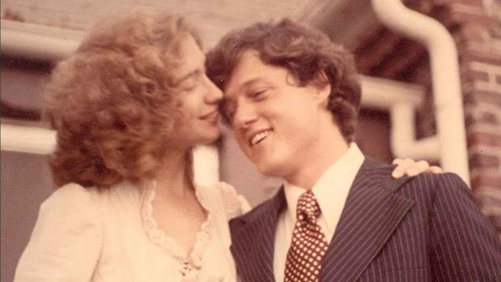 La boda de Bill y Hillary Clinton, celebrada en 1975