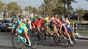 Imagen del último Mundial de ciclismo en ruta de Catar.