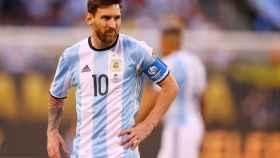 Messi, durante la Copa América Centenario.