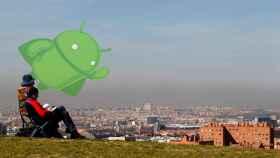 La contaminación de Madrid desde el móvil. Cómo recibir los avisos