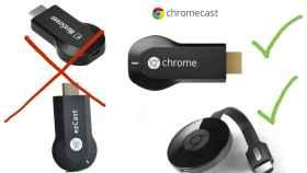Cuidado, estos Chromecast son falsos