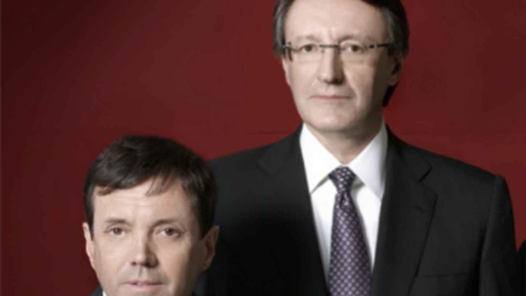 Los hermanos Higini y Ramón Cierco.