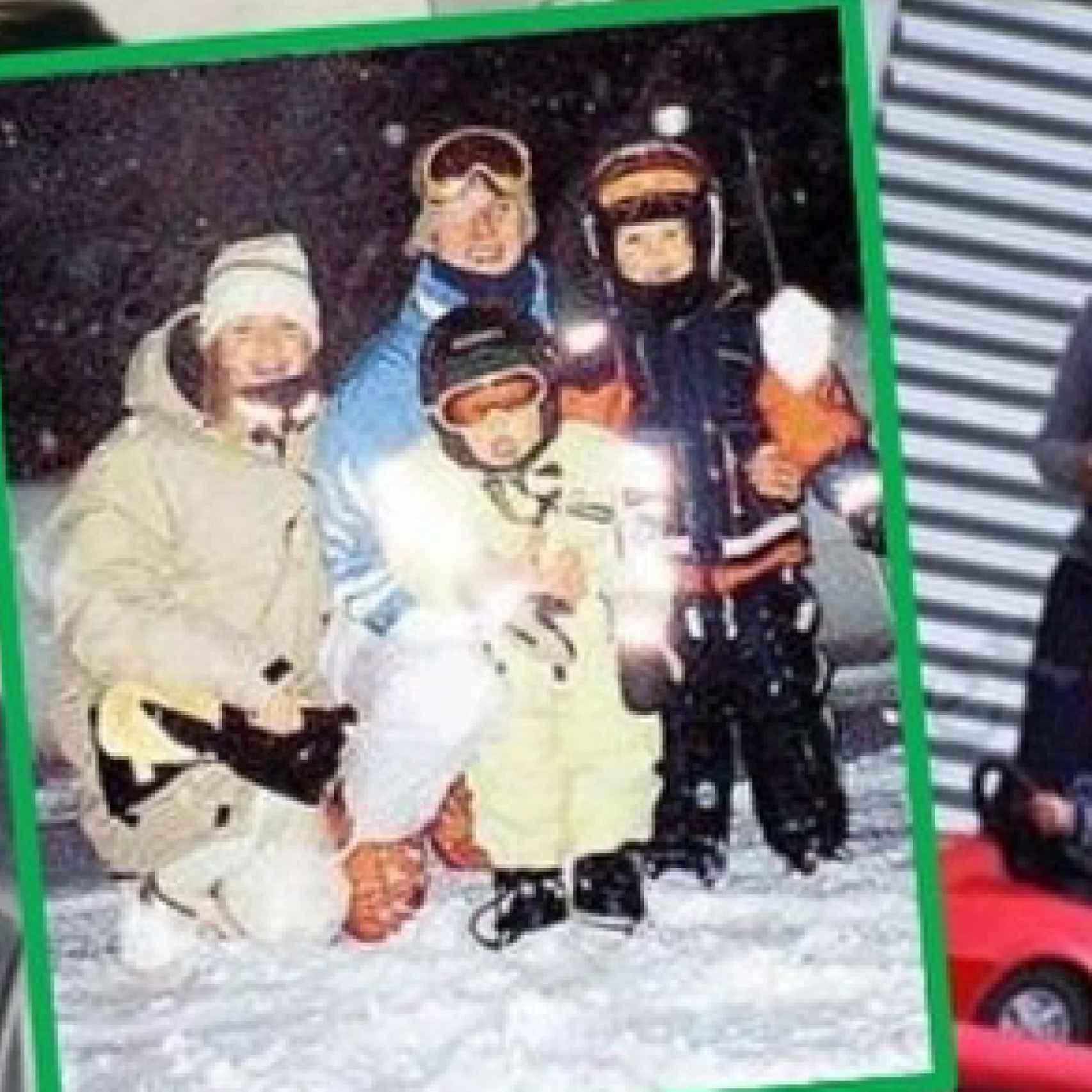 La familia Schumacher era muy aficionada al esquí