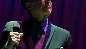 El cantautor Leonard Cohen.