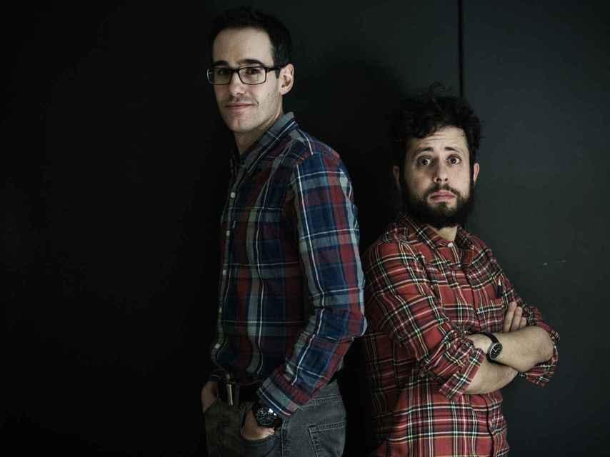 Xavi Puig y Kike García, directores de El Mundo Today.