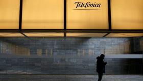Telefónica se dejó más de un 7% en bolsa.
