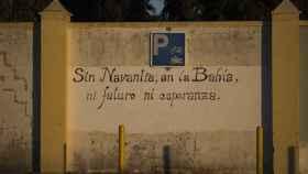 Sol de amanecer en la factoría de Navantia en San Fernando (Cádiz).