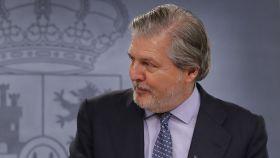 El ministro de Educación, Cultura y Deporte y portavoz del Gobierno, Iñigo Méndez de Vigo.