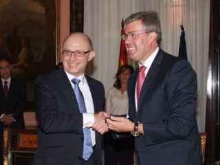 Fernández de Moya junto a Montoro.