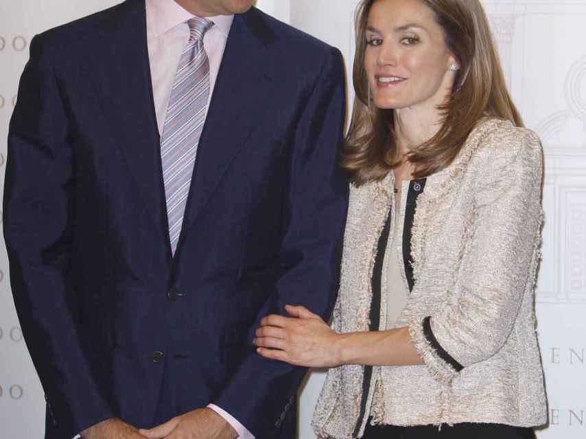 Don Felipe y doña Letizia en una imagen de 2012, cuando eran Príncipes de Asturias.