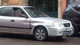 Uno de los taxis de la droga en Embajadores.