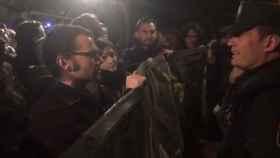 Varios concejales en la concentración okupa que desafía a Carmena: O con nosotros, o con el Gobierno PP-PSOE