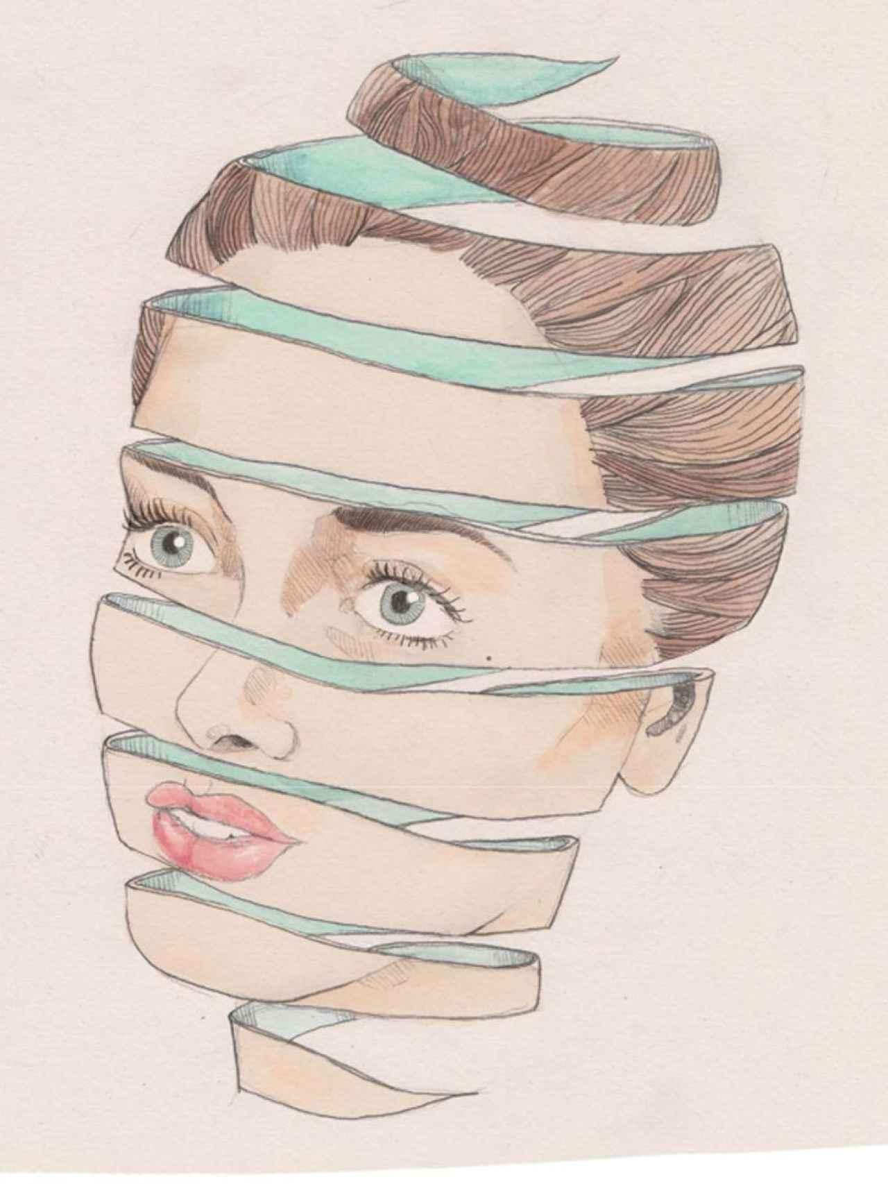 Una de las ilustraciones de Anatomías íntimas, el libro de Carlos Sadness.