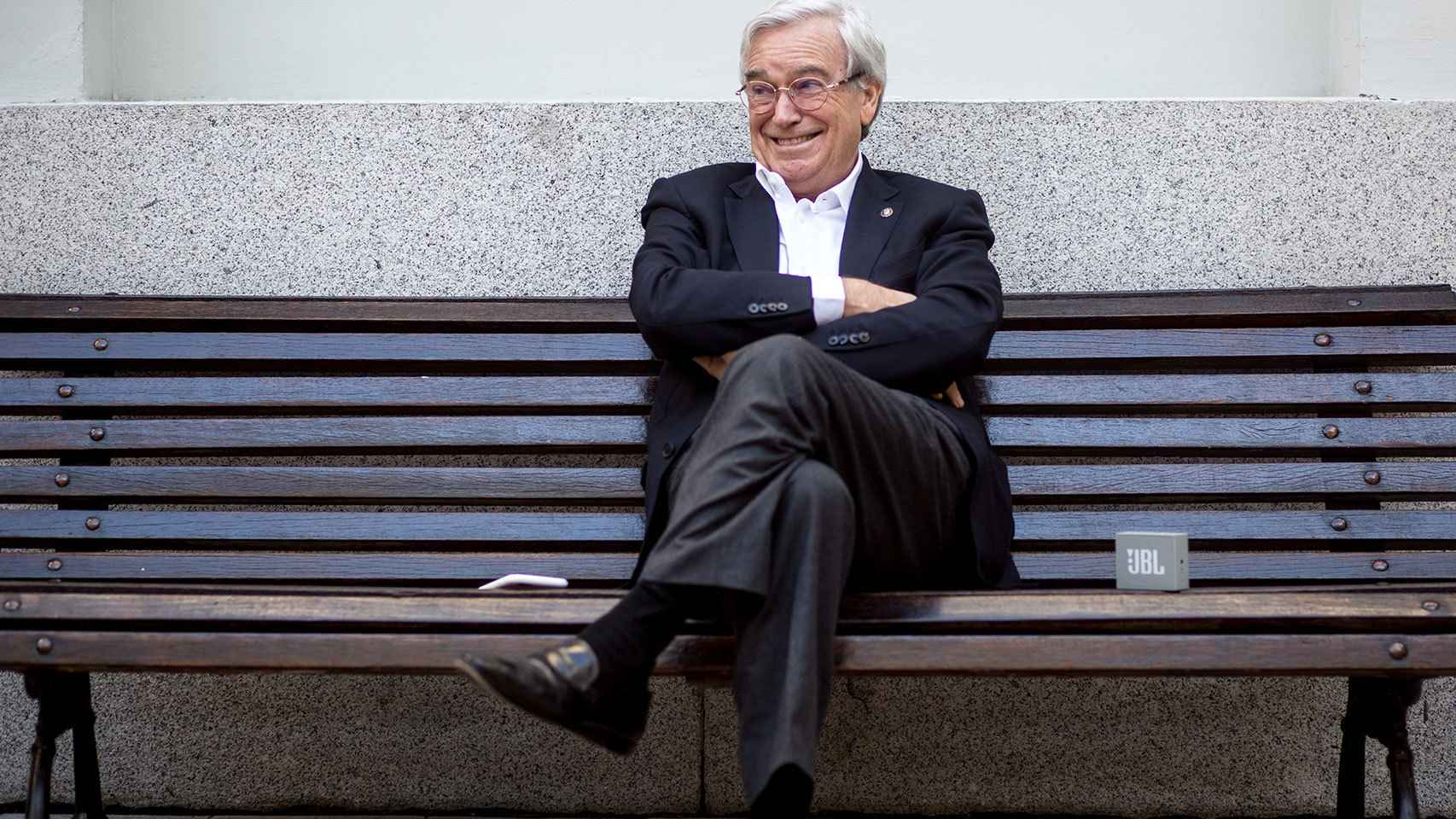 Francisco Luzón, durante la entrevista.