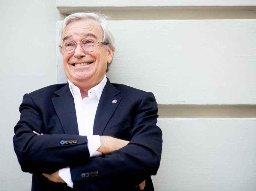 Francisco Luzón, durante la entrevista en Madrid.