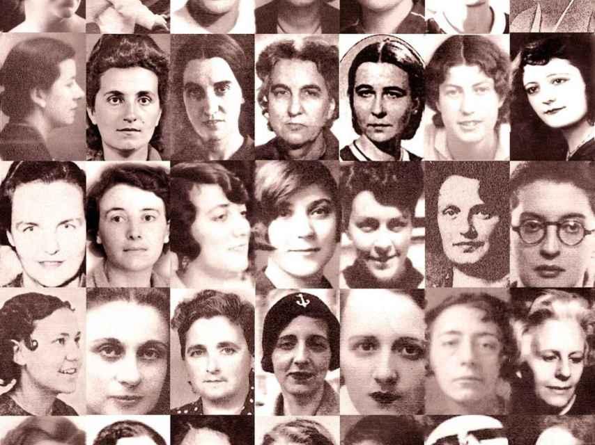 Mujeres integrantes de las Brigadas Internacionales/