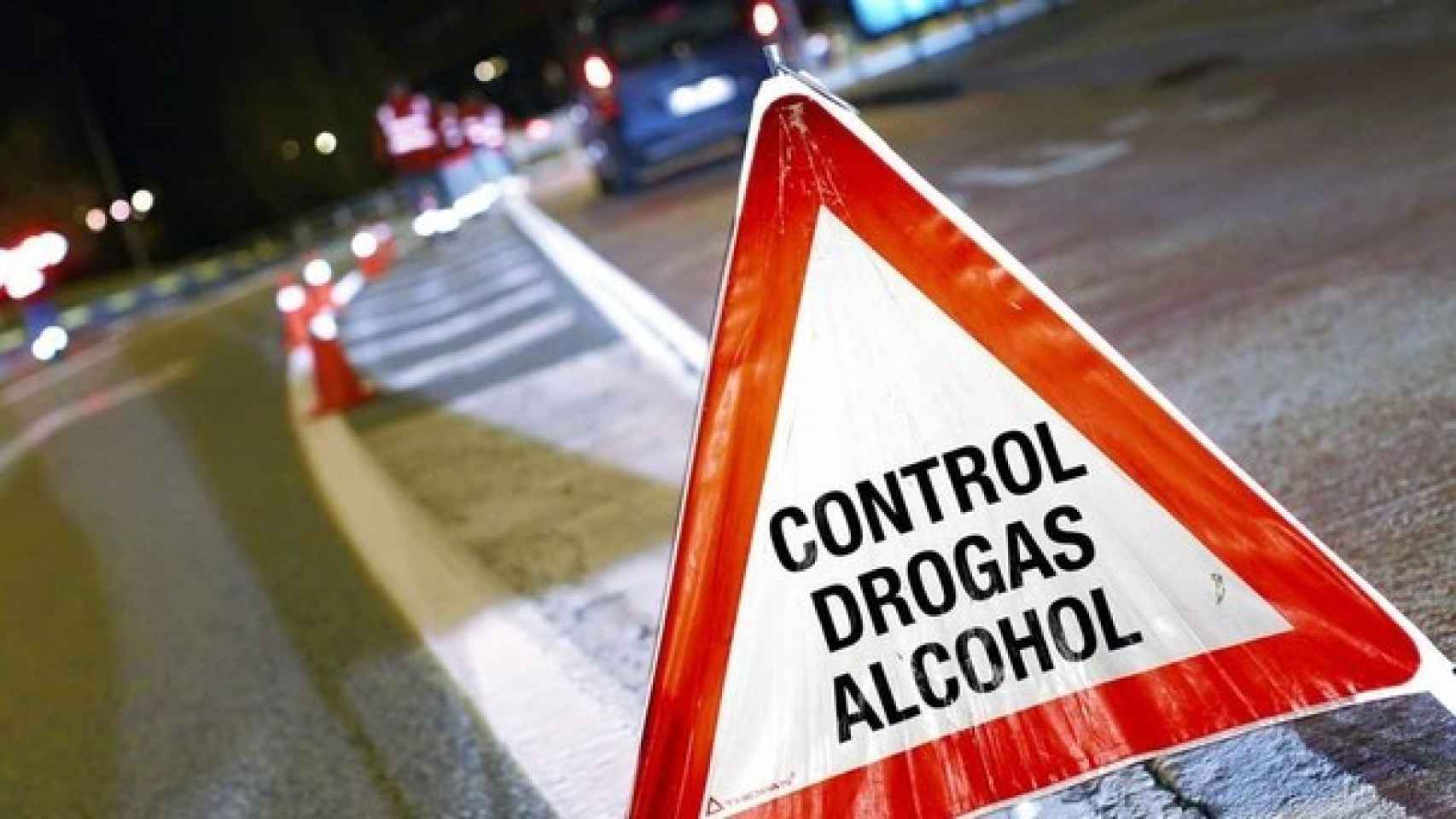 Un control de alcohol y drogas.