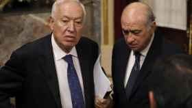 Fernández Díaz y Margallo este martes en el Congreso