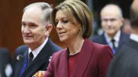 Cospedal ha participado en su primera reunión de ministros de Defensa de la UE