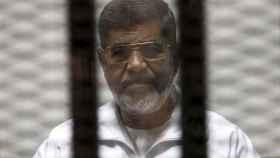 Mohamed Mursi, en prisión.