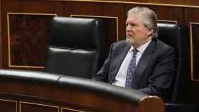 Méndez de Vigo, durante el Pleno de este martes sobre la paralización de la Lomce