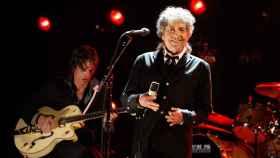 El Nobel de Literatura Bob Dylan.