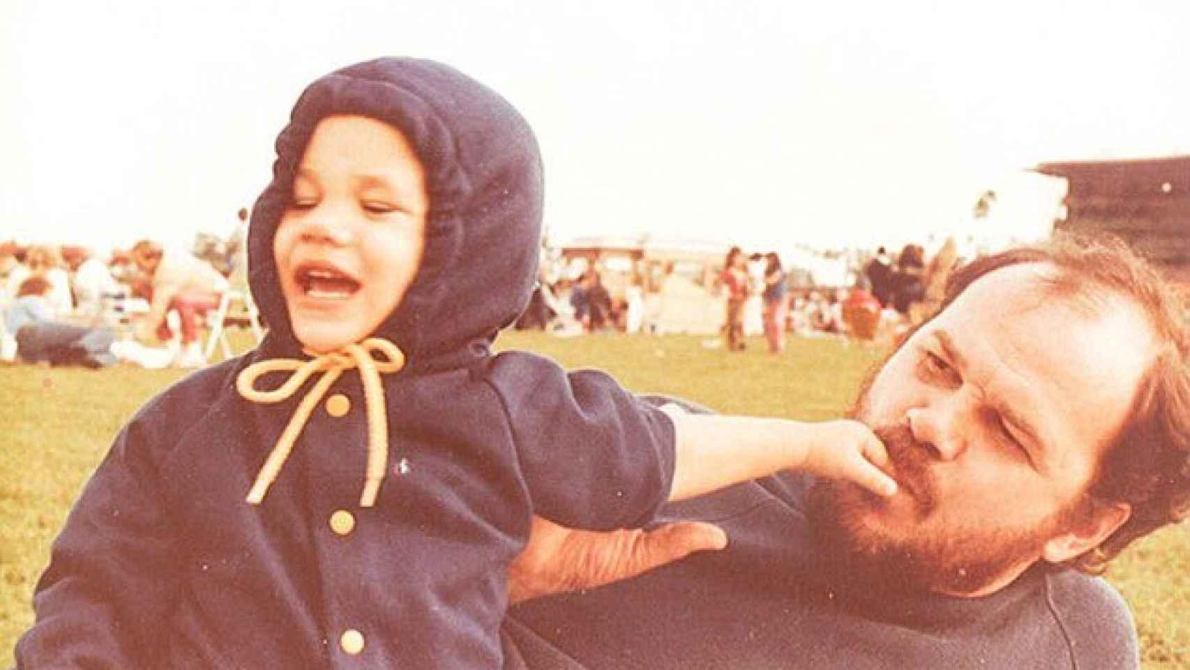 Meghan Markle con su padre, Thomas
