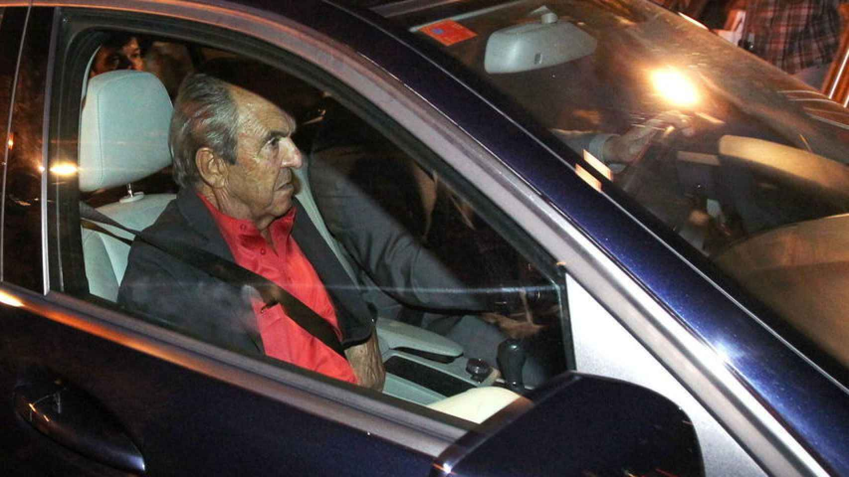 Jaime Botín declara como investigado por un delito de contrabando.